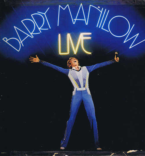 Barry Manilow ‎– Live (2 пластинки)