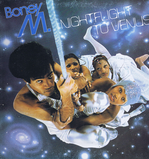 Boney M ‎– Nightflight To Venus