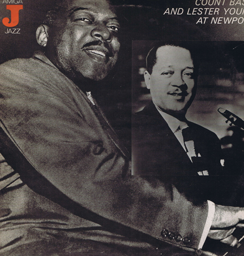 Count Basie And Lester Young At Newport