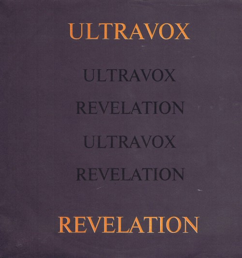 Ultravox ‎– Revelation