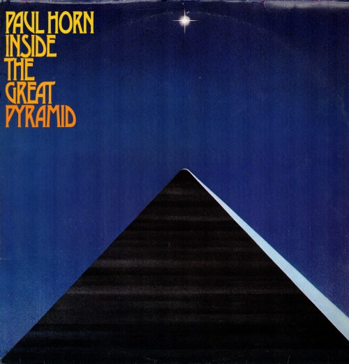 Paul Horn ‎– Inside The Great Pyramid / Пол Хорн – Внутри Великой пирамиды (2 пластинки)