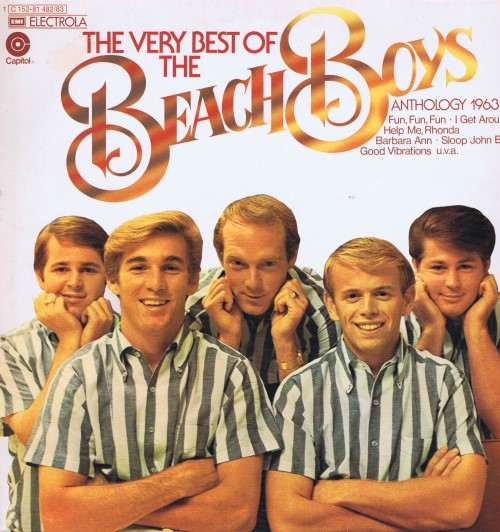 The Beach Boys ‎– The Very Best Of The Beach Boys (Anthology 1963-69) (2 пластинки)