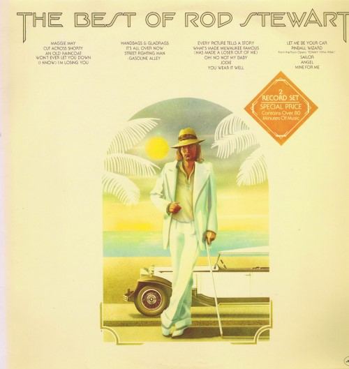Rod Stewart ‎– The Best Of Rod Stewart (2 пластинки)